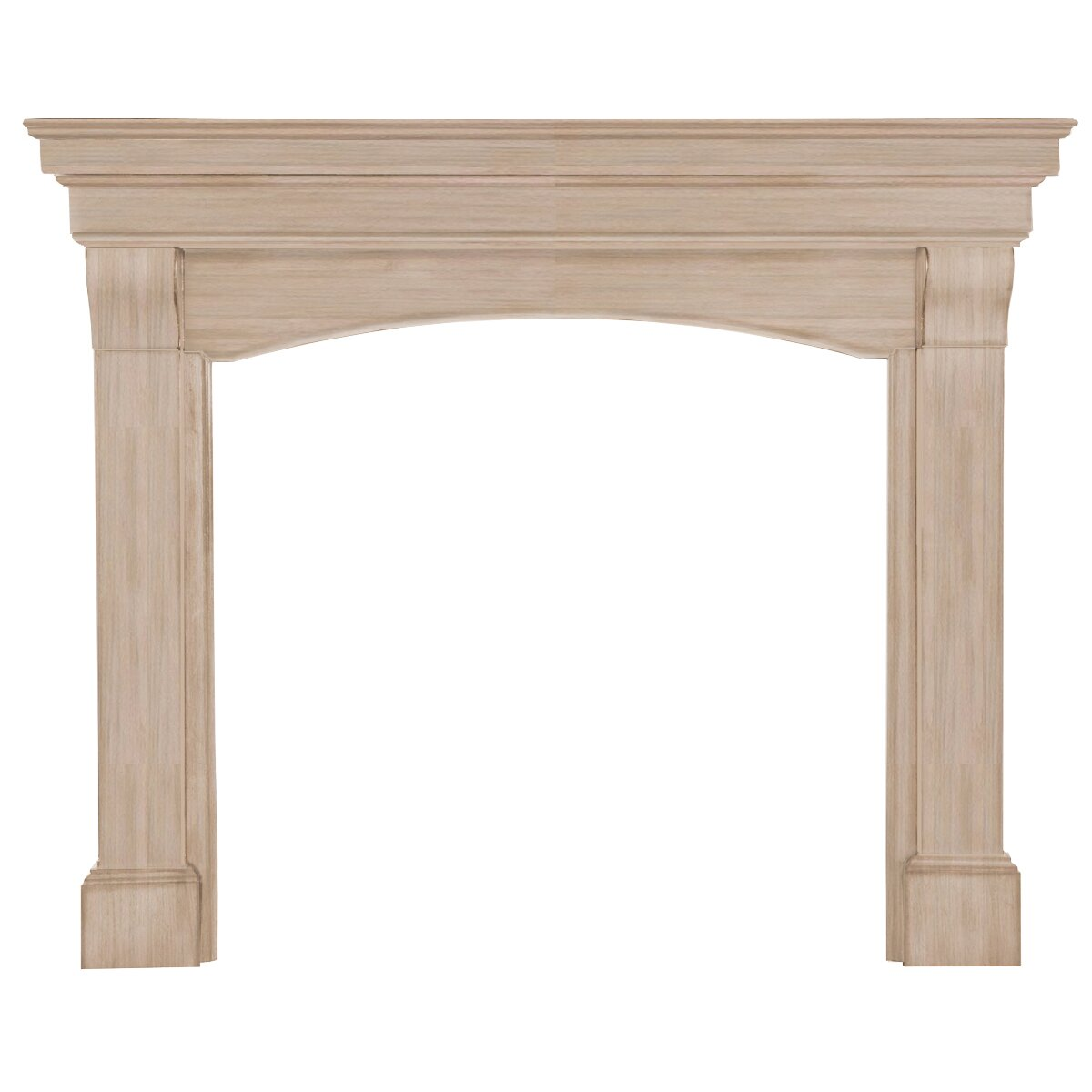 Pearl Mantels The Blue Ridge Fireplace Mantel Surround - Pearl Mantels The Blue Ridge Fireplace Mantel Surround & Reviews