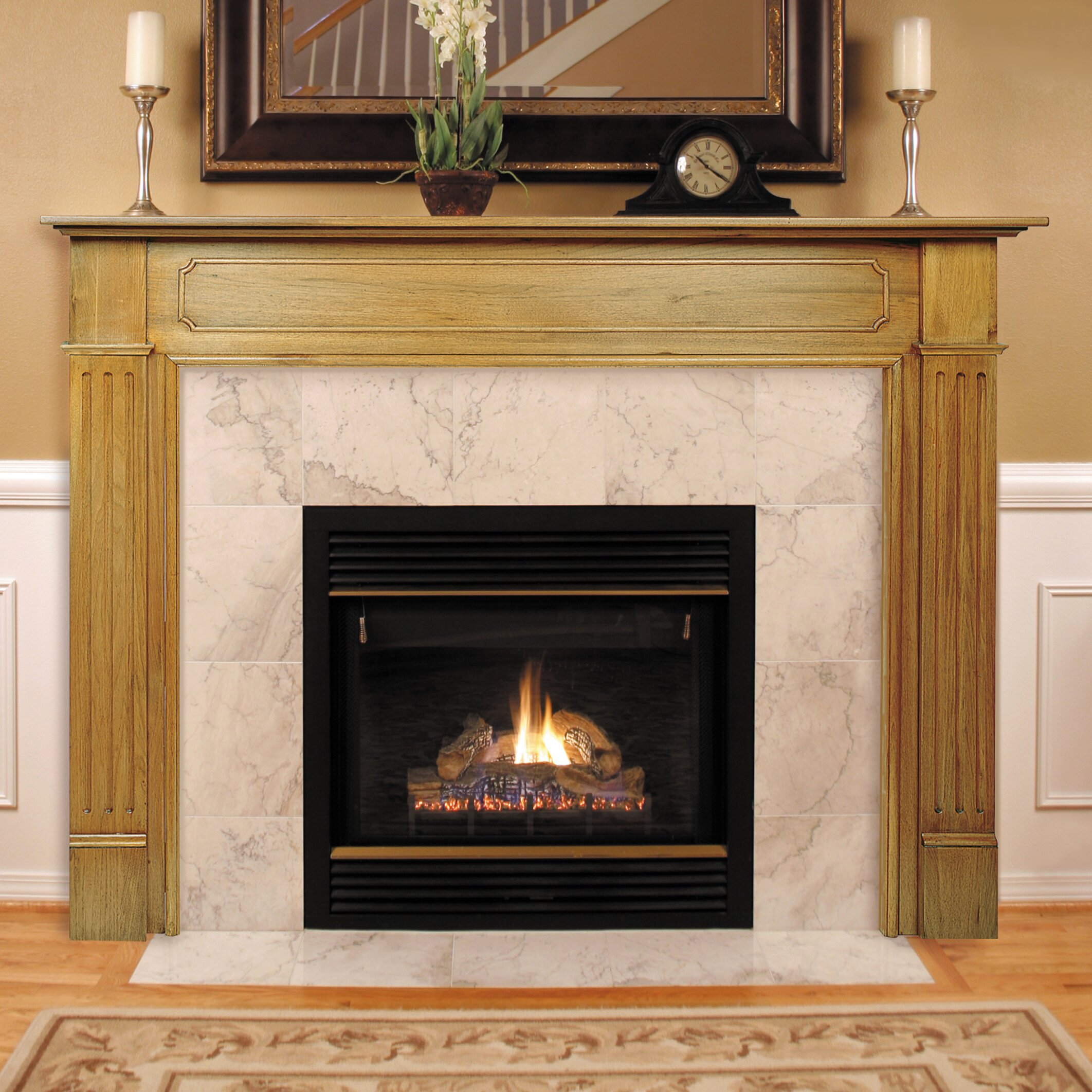 Pearl Mantels The Williamsburg Fireplace Mantel Surround