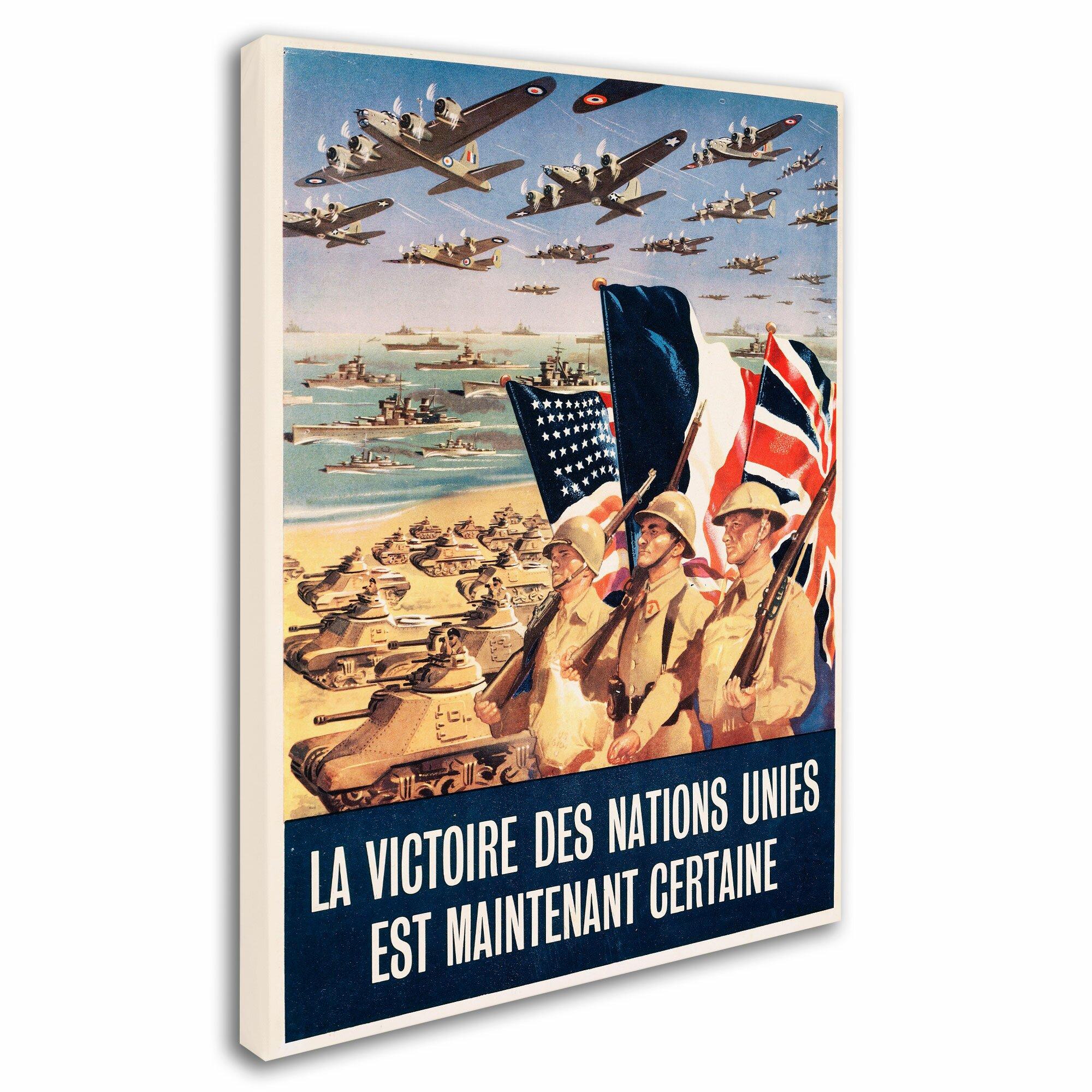 Trademark Art French Propaganda Poster From World War Ii