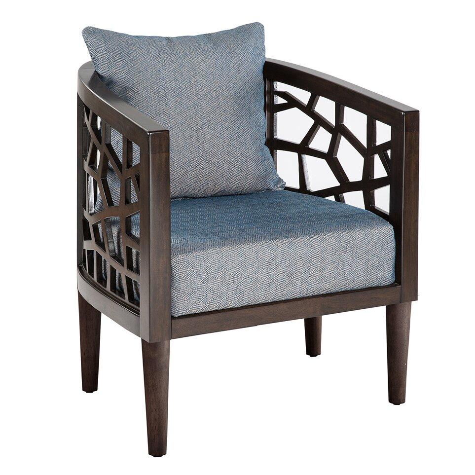 Ink Ivy Crackle Barrel Chair Amp Reviews Wayfair