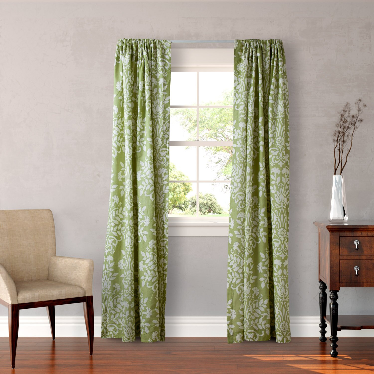 Laura Ashley Home Rowland Curtain Panels & Reviews