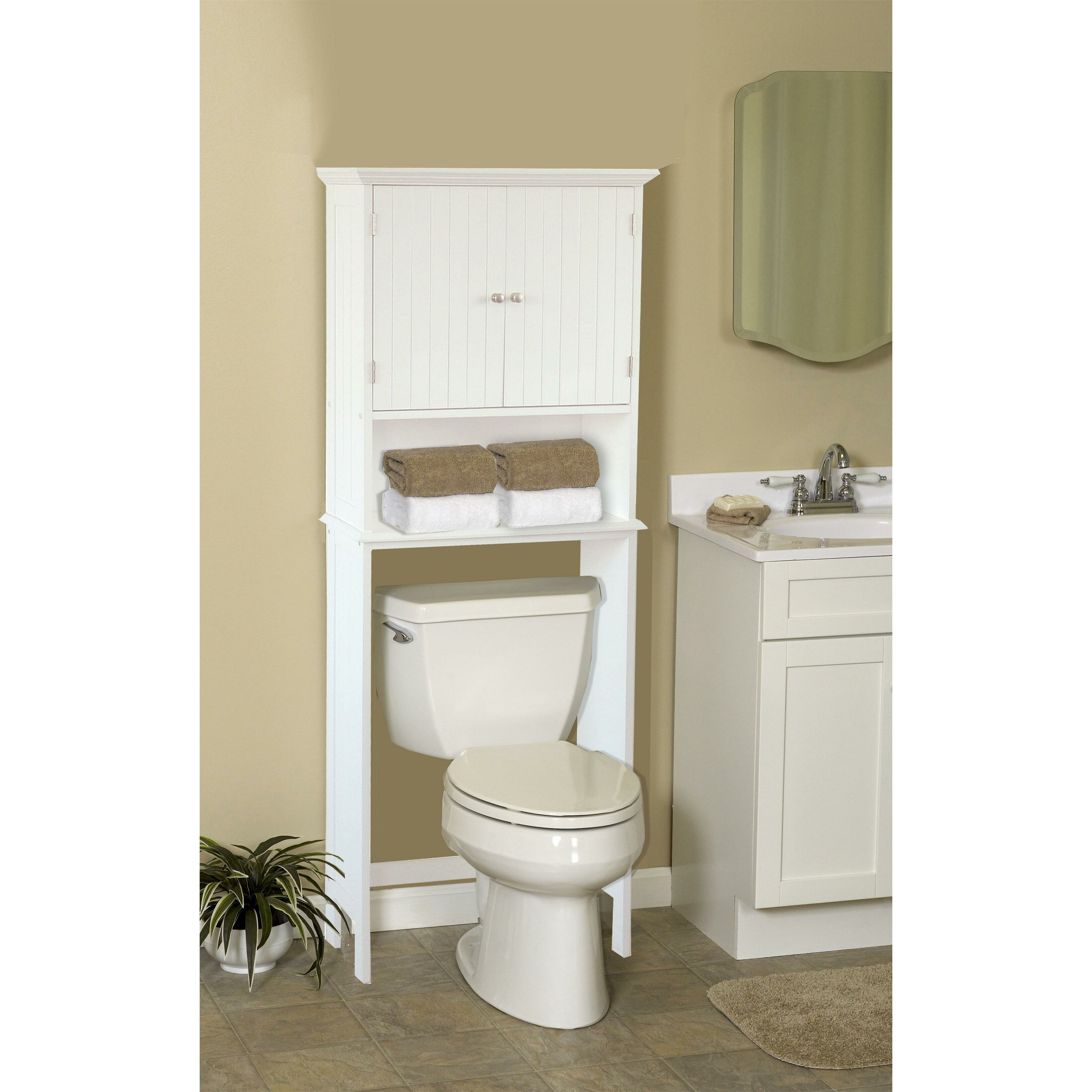to spacesaver bathrooms saver chrome cabinet bathroom pertaining floor space scroll design