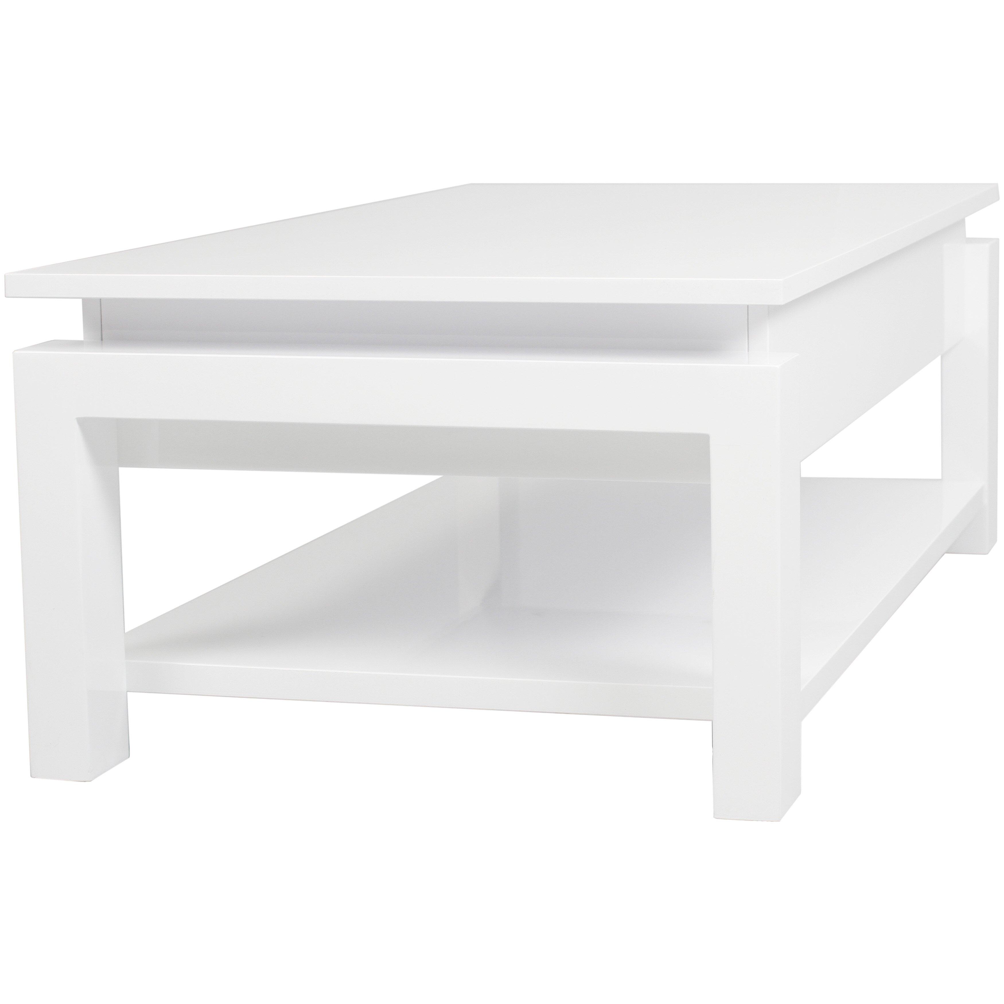 Coffee Table Stool Matrix Kayla Coffee Table With Lift Top Reviews Wayfair