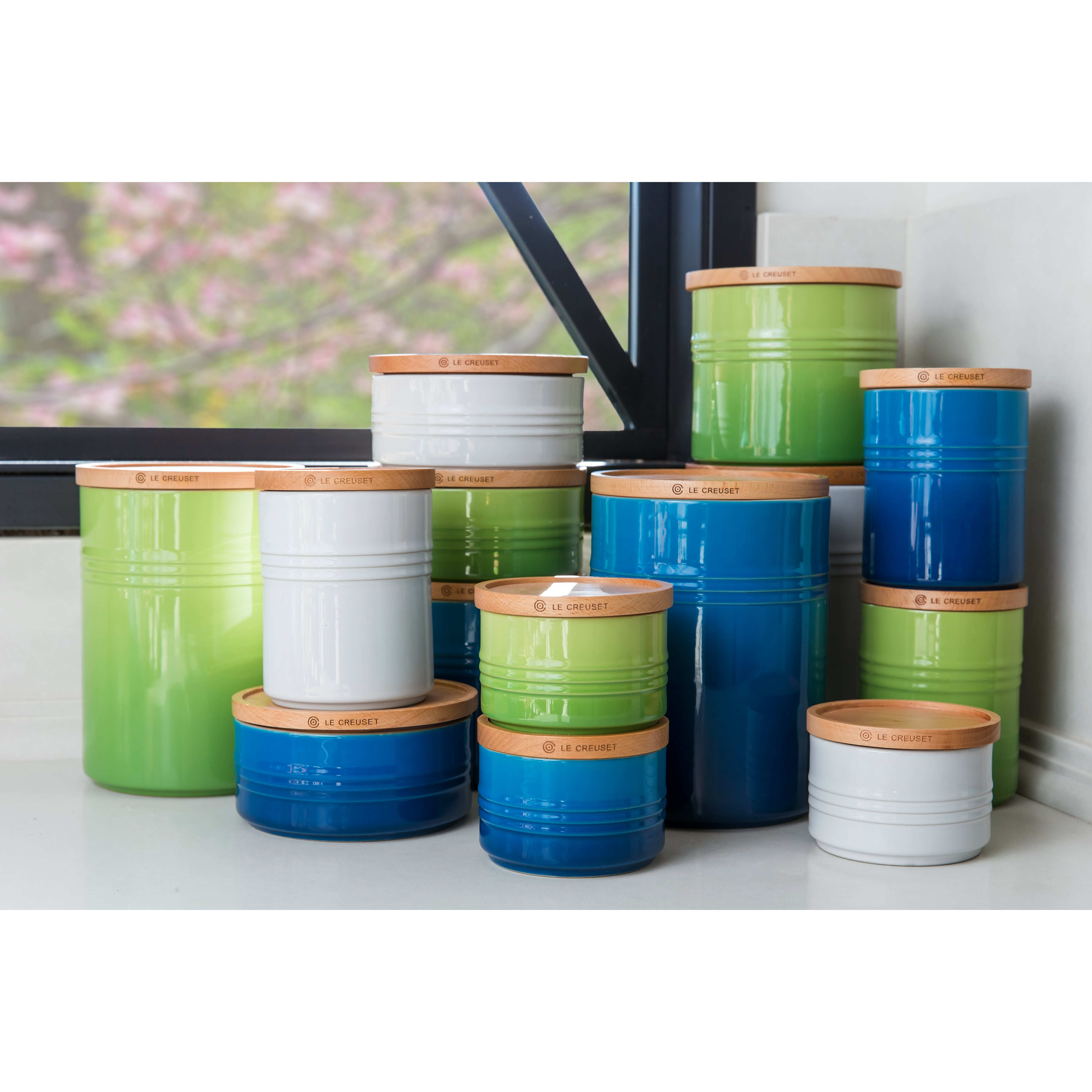 Green Kitchen Canister Set Turquoise Kitchen Canisters Cliff Kitchen