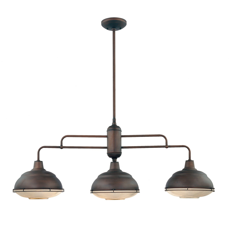 Industrial Kitchen Lighting 3 Light Pendant Island Kitchen Lighting Soul Speak Designs