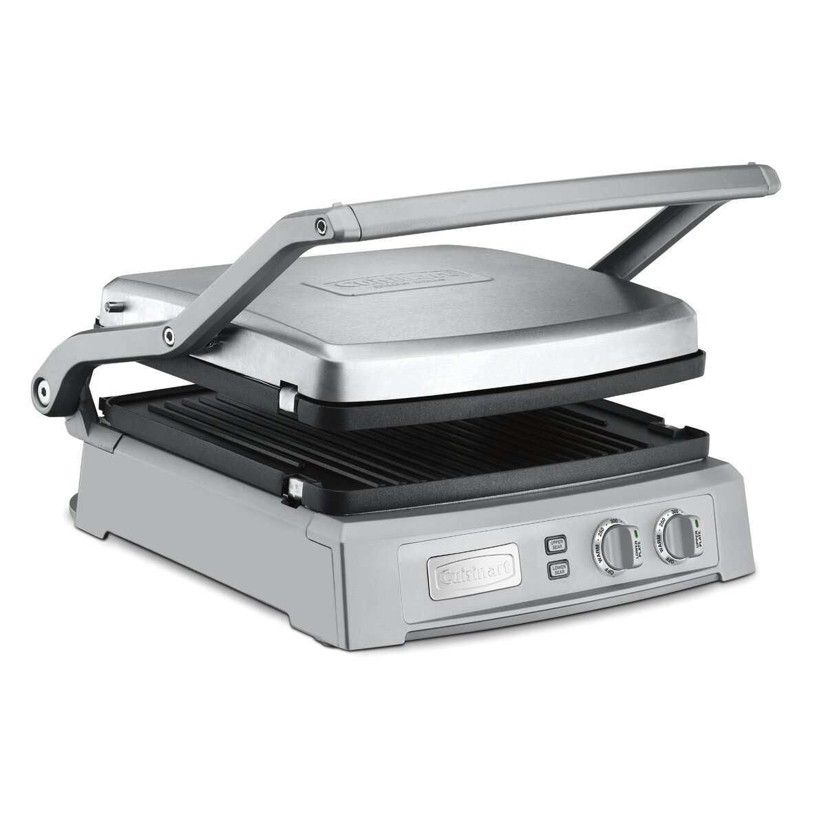 Non Stick Kitchen Appliances Cuisinart Deluxe Nonstick Reversible Grill Pan And Griddle