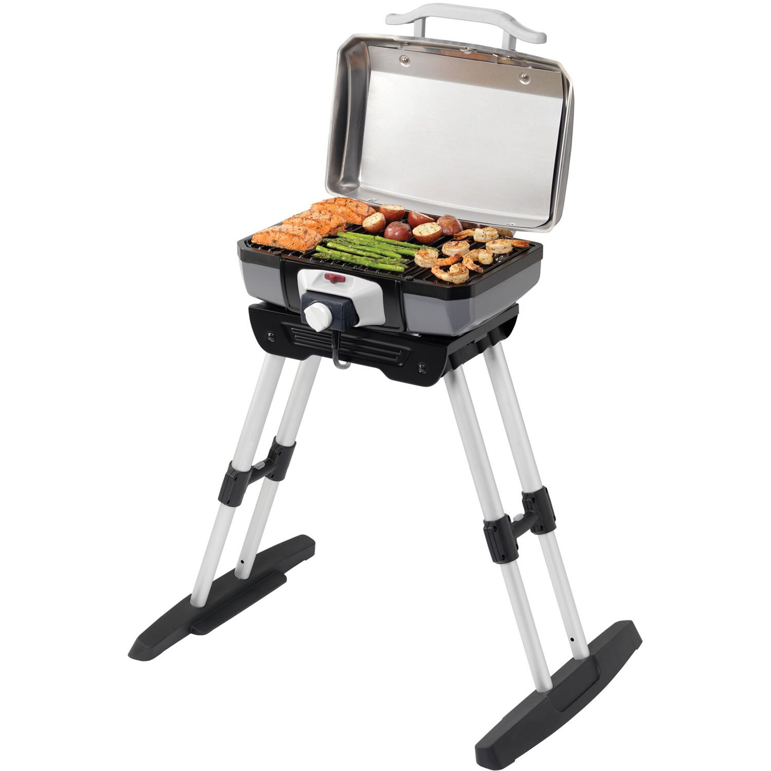 Cuisinart 18 Quot Electric Grill With Versa Stand Base