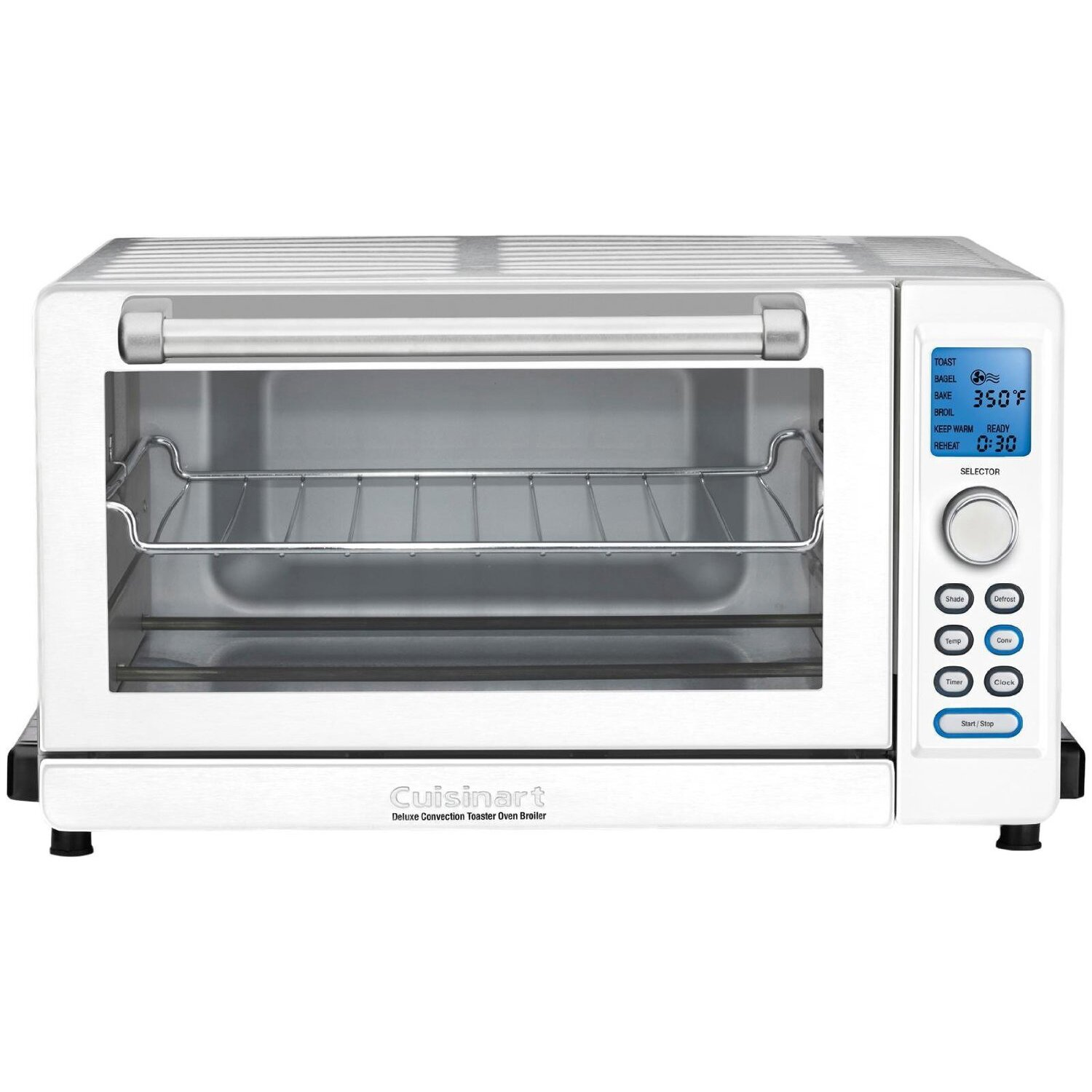 Under the cabinet toaster oven - Cuisinart Deluxe Convection Toaster Oven Broiler