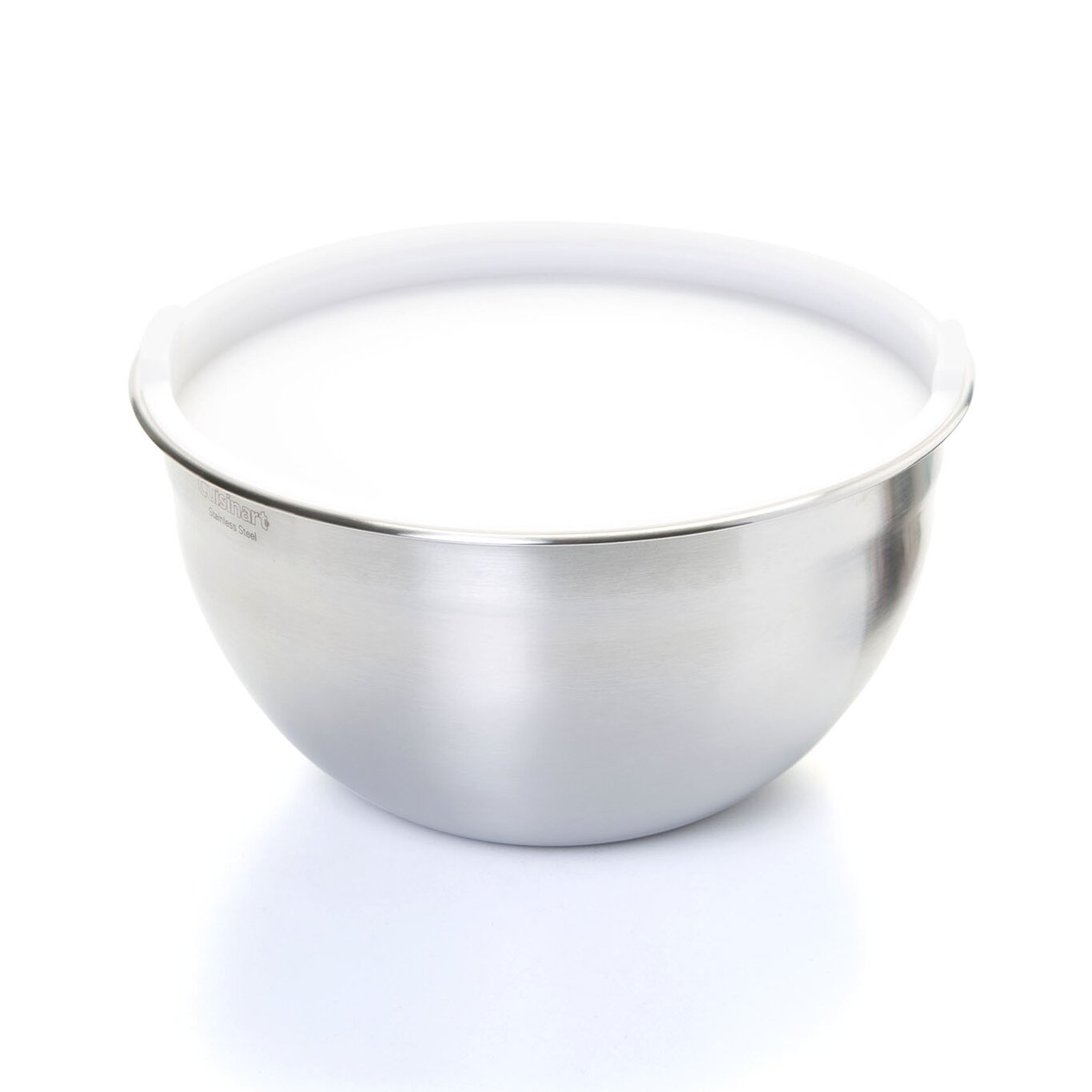 Cuisinart stainless steel mixing bowls with lids - Cuisinart 3 Piece Mixing Bowl Set