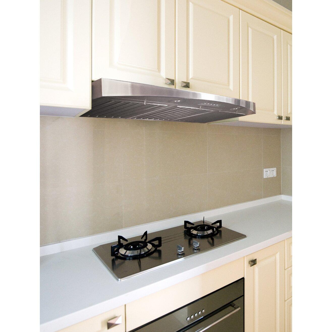 Range Hood Kitchen Kobe Range Hoods Deluxe 30 680 Cfm Under Cabinet Range Hood