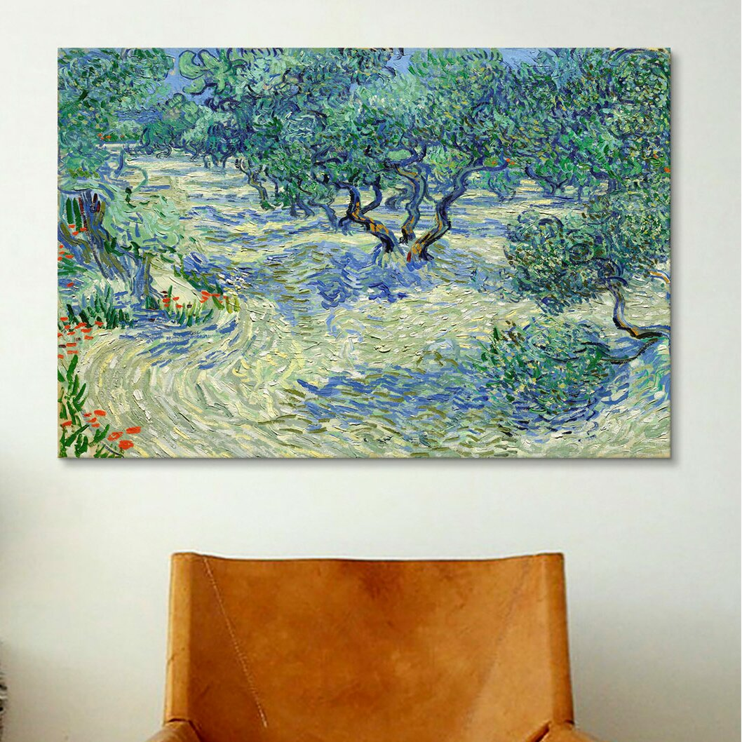 icanvas olive orchard by vincent van gogh painting print 14369 | 2522olive 2borchard 2522 2bcanvas 2bwall 2bart 2bby 2bvincent 2bvan 2bgogh
