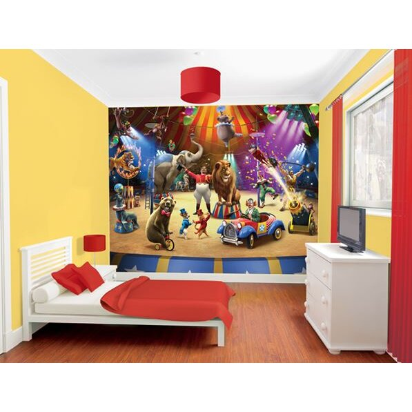 Walltastic the circus wall mural for Circus wall mural
