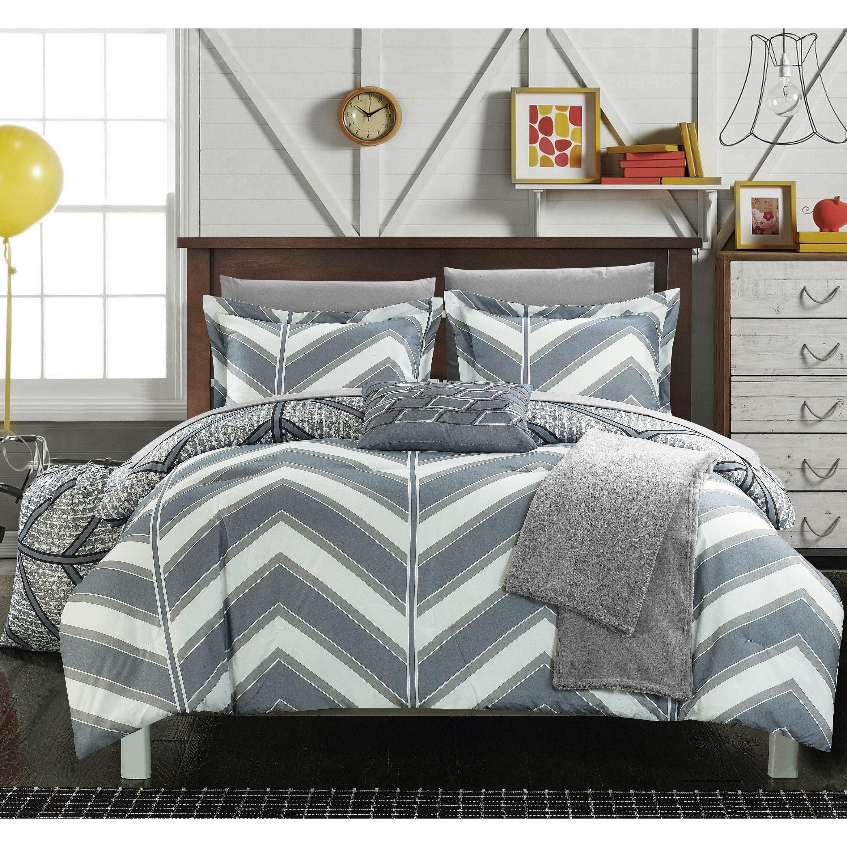 chic home laredo 10 piece full comforter set & reviews | wayfair