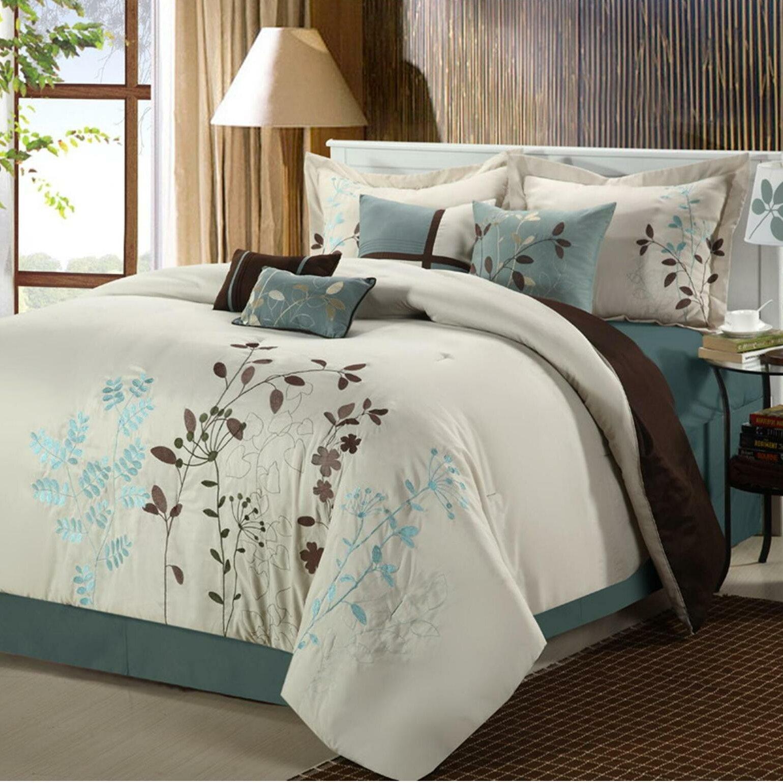 Chic Home Bliss Garden 8 Piece Comforter Set Reviews Wayfair