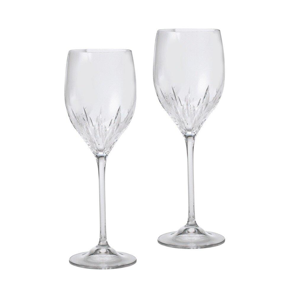 Vera Wang Duchesse Red And White Wine Glass Wayfair