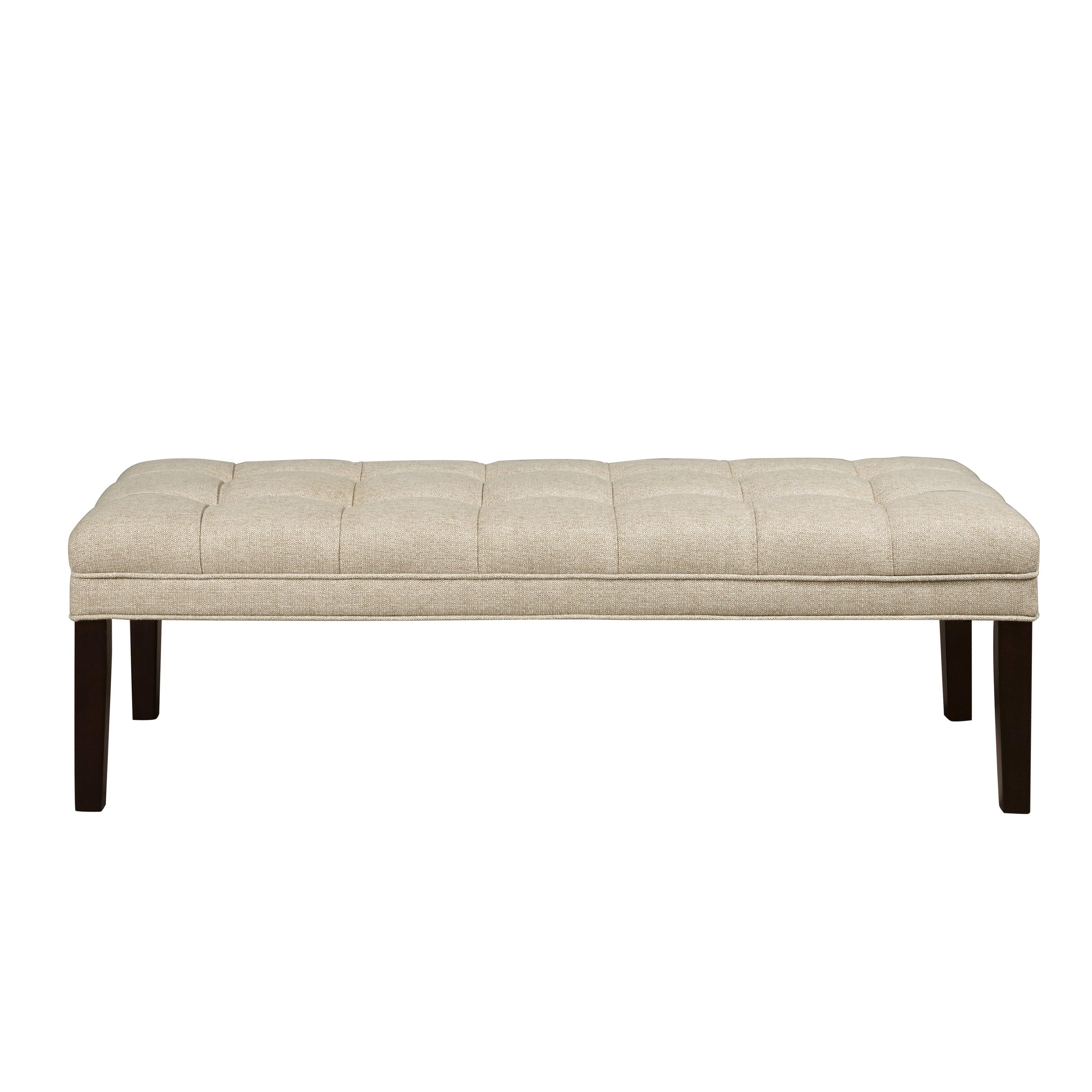 pri upholstered tufted bedroom bench reviews