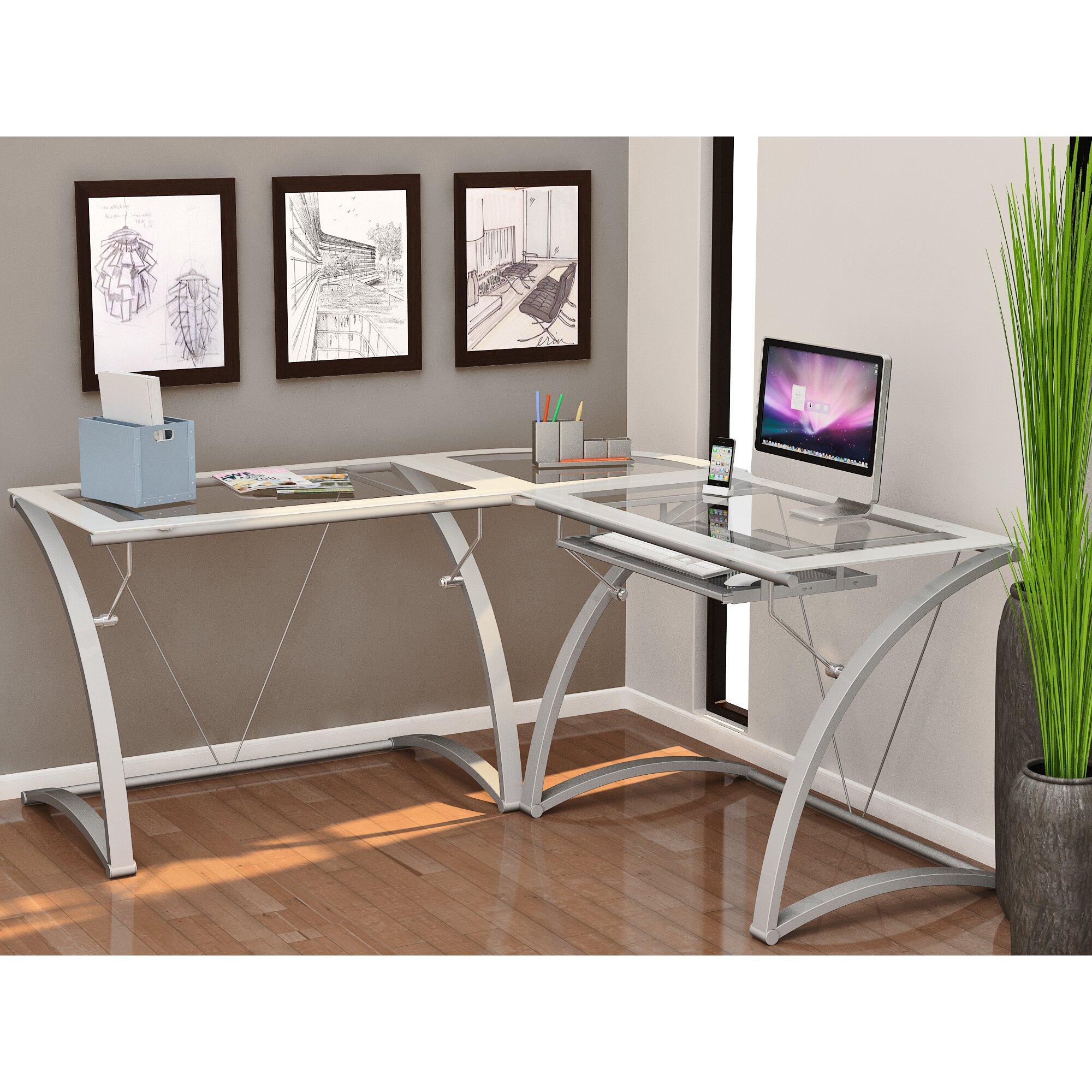 Z Line Designs Gianna L Shape Writing Desk Reviews Wayfair