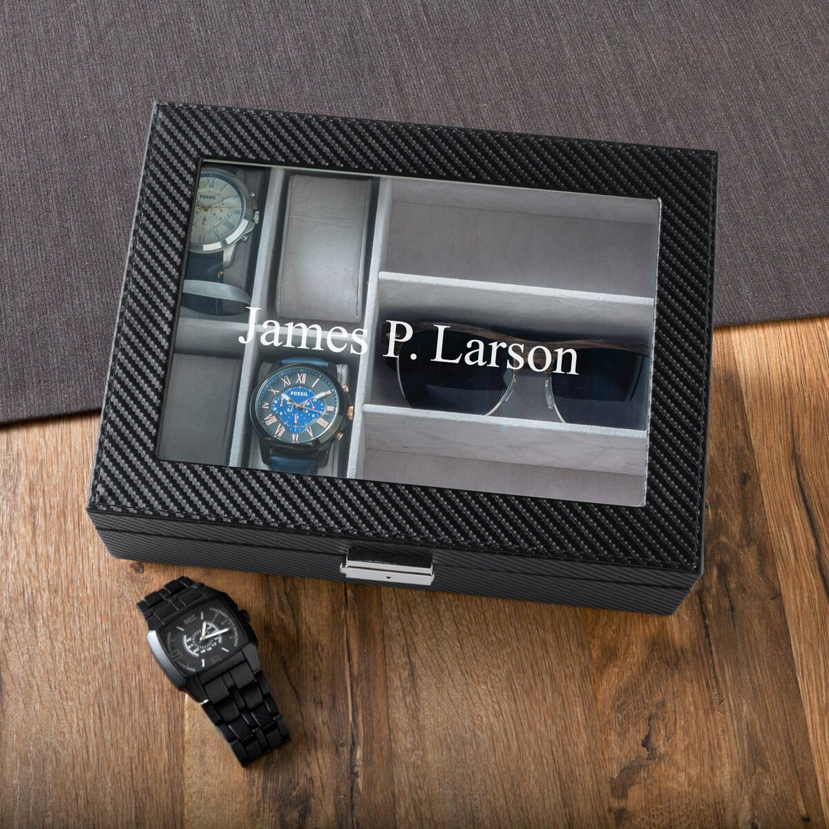 jds personalized gifts personalized men s watch and sunglass box jds personalized gifts personalized men s watch and sunglass box