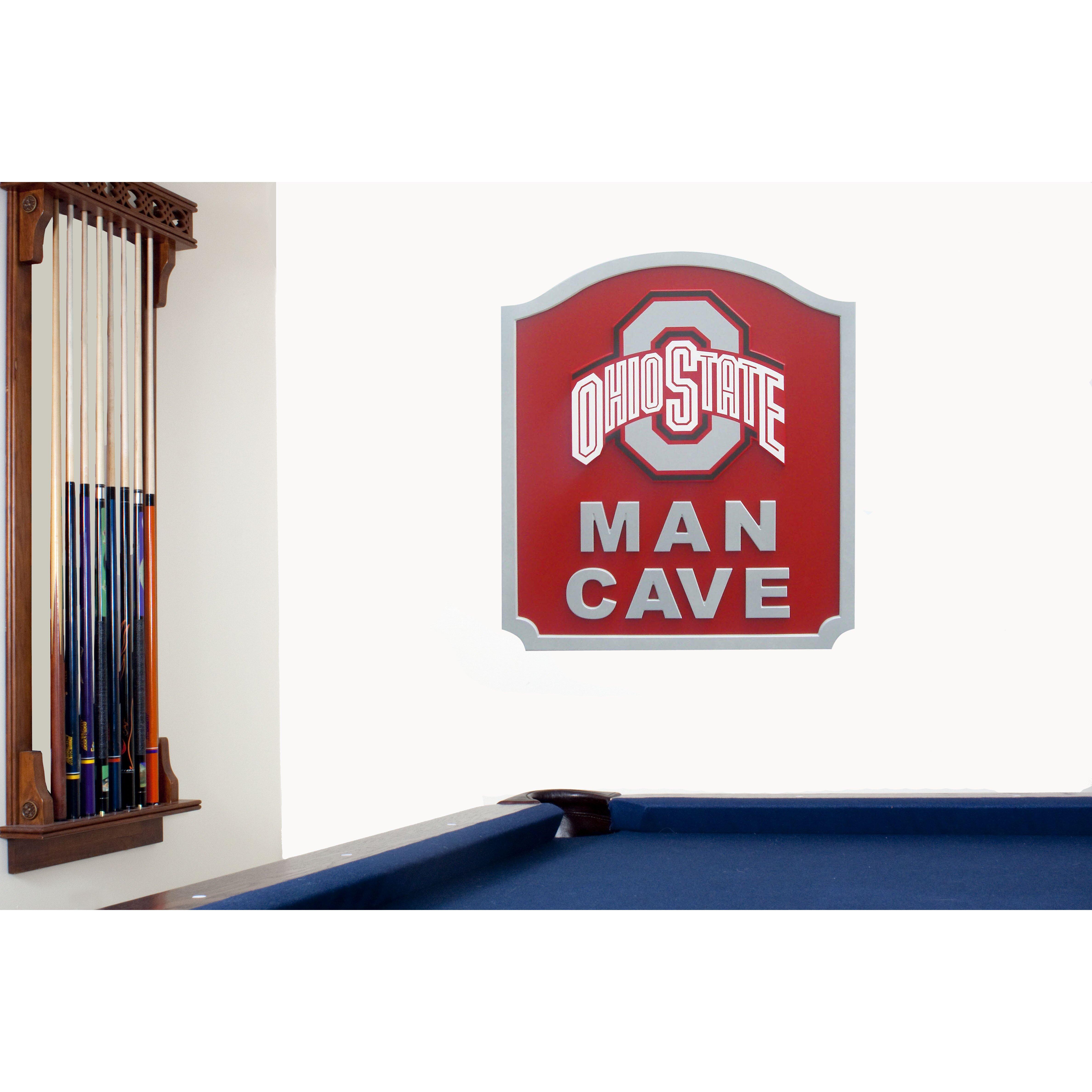 Fan Creations NCAA Man Cave Textual Art Plaque amp Reviews  : Fan Creations NCAA Man Cave Textual Art Plaque from www.wayfair.com size 4752 x 4752 jpeg 966kB