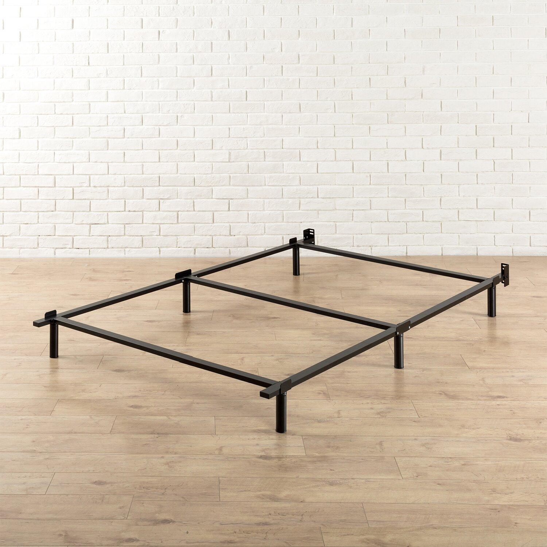 zinus heavy duty steel bed frame