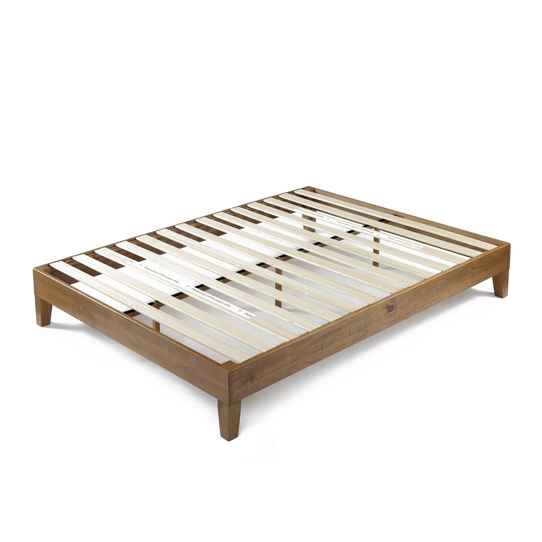 Zinus Deluxe Wood Platform Bed Zinus Deluxe Wood Platform Bed Reviews  Wayfair  King Zinus Sleigh. Zinus Red Fabric Beds   deathrowbook com