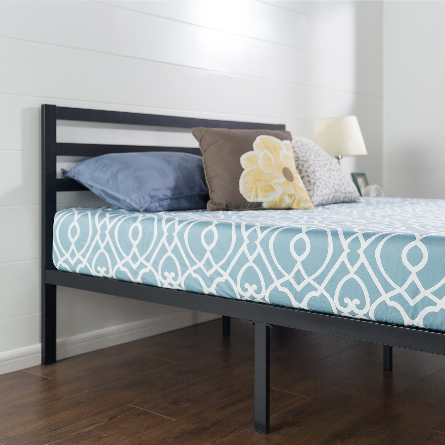 Anew Edit Quick Lock Metal Platform Bed Frame With