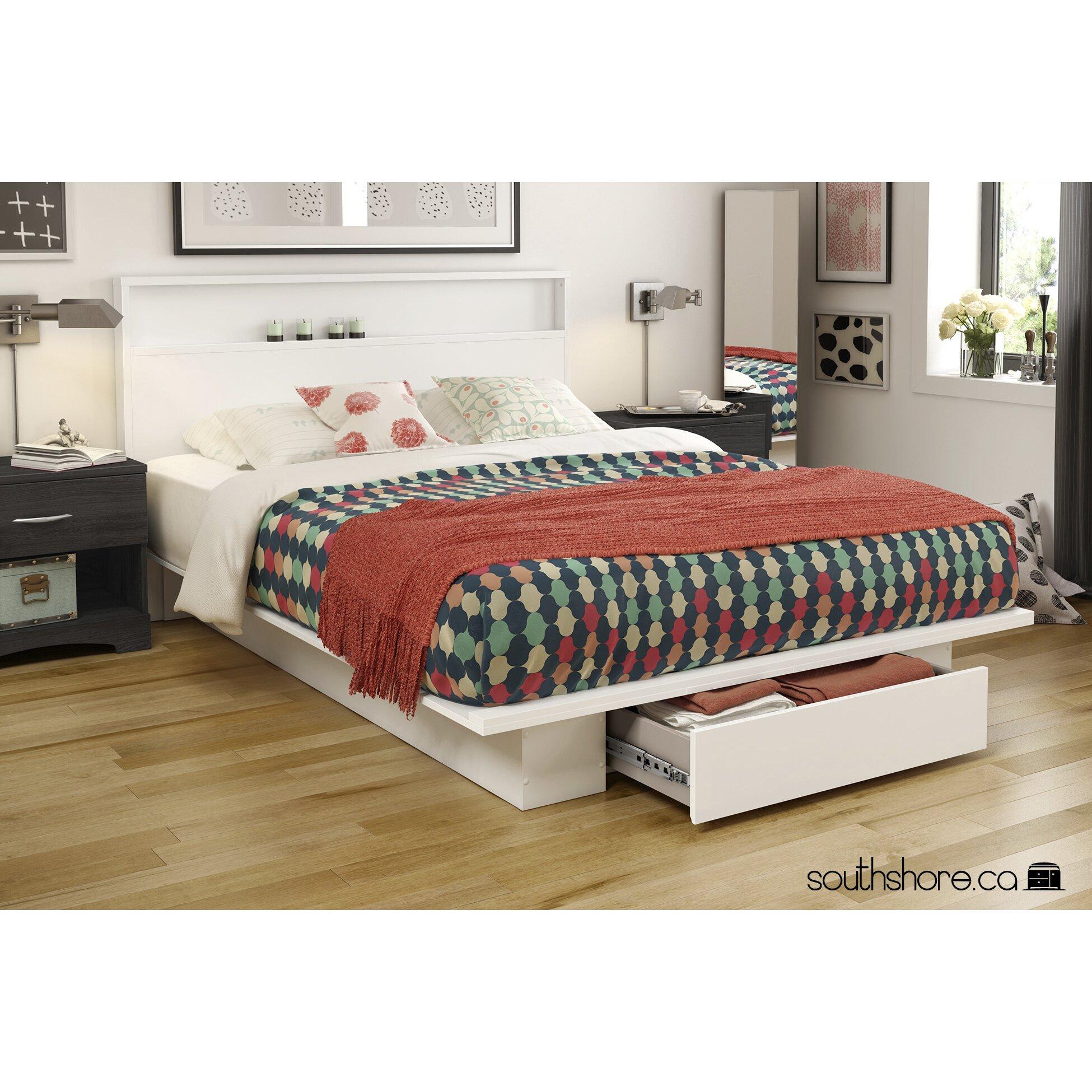 South Shore Holland Storage Platform Bed Amp Reviews Wayfair