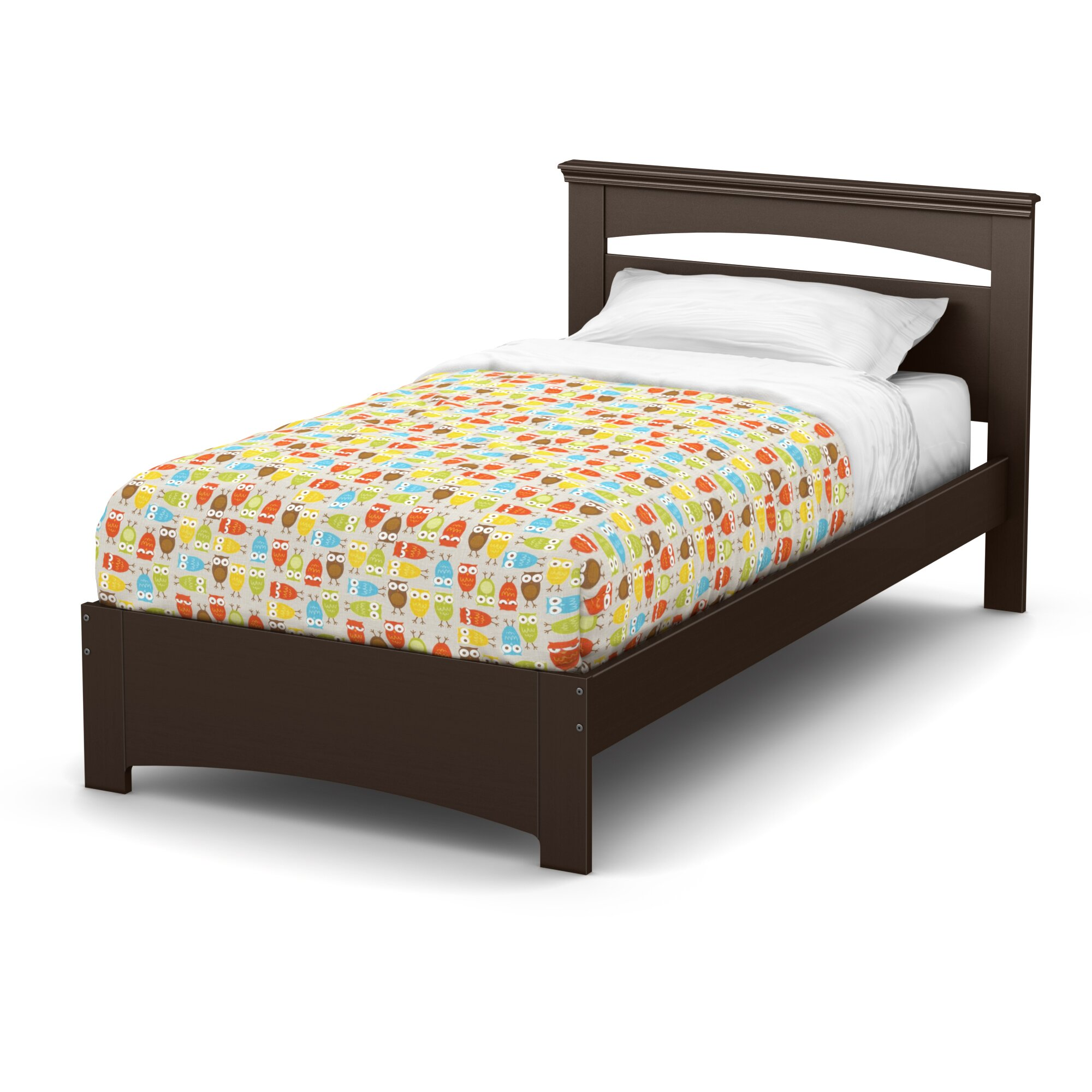 south shore libra twin panel bed