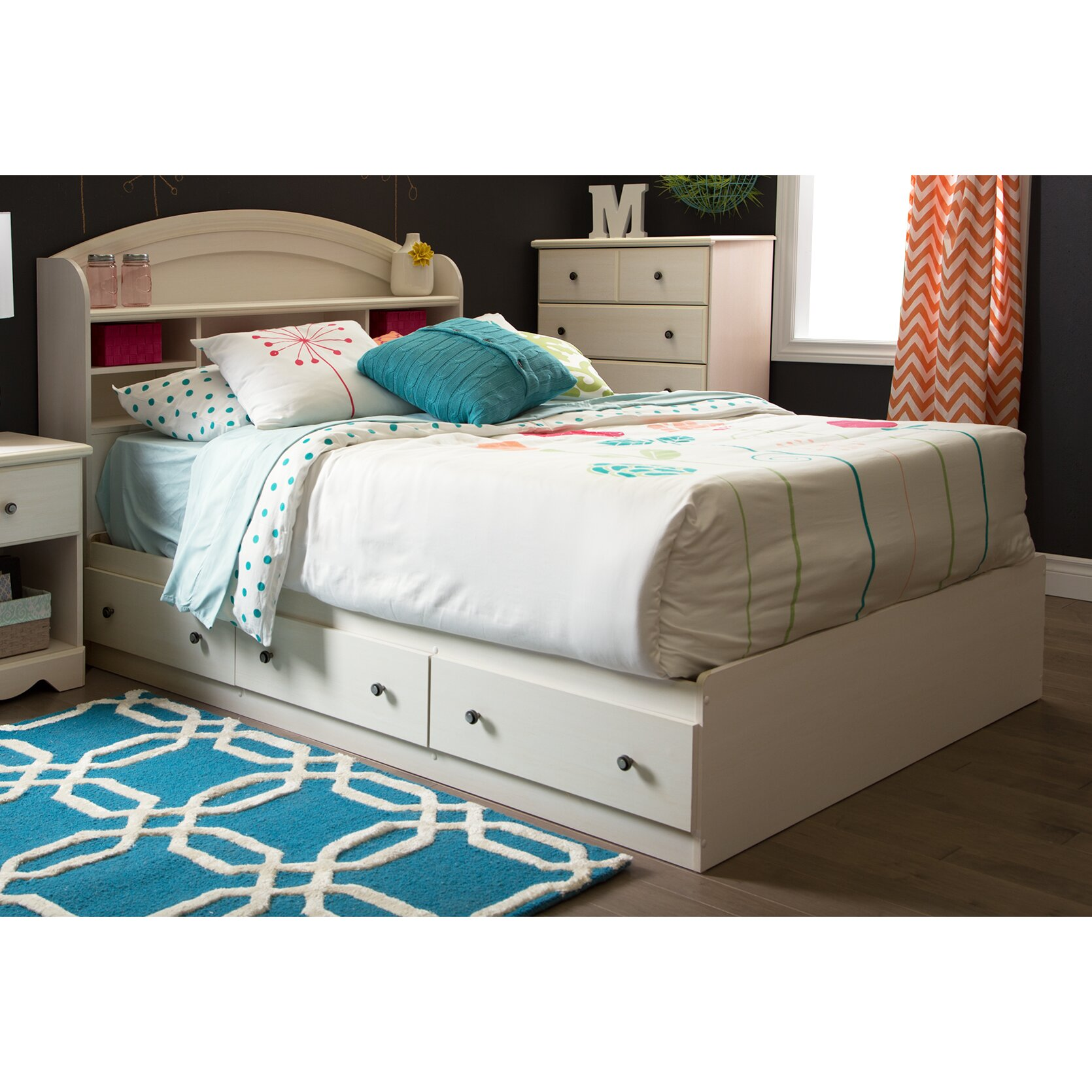 South Shore Bedroom Furniture South Shore Country Poetry Platform Customizable Bedroom Set