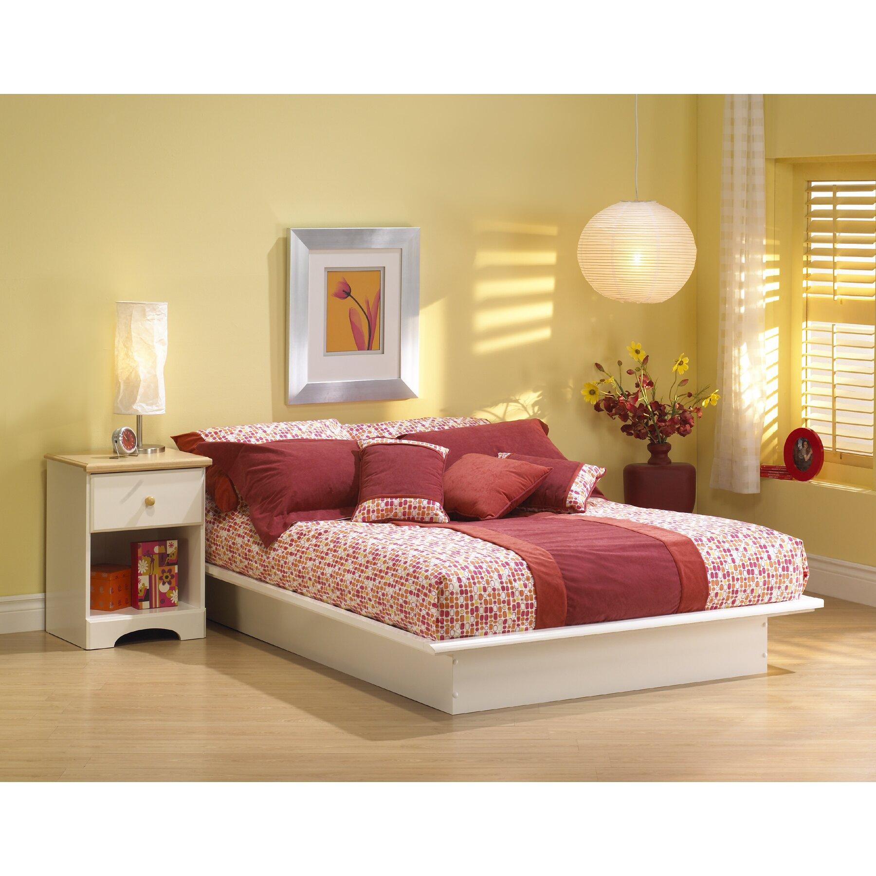 south shore newbury platform customizable bedroom set & reviews