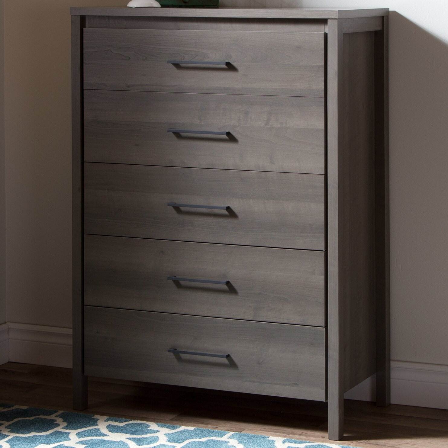 Five Drawer Filing Cabinet South Shore Gravity 5 Drawer Chest Reviews Wayfair