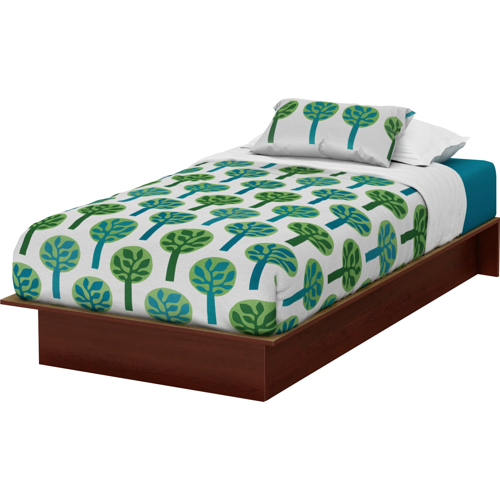 south shore libra twin platform bed