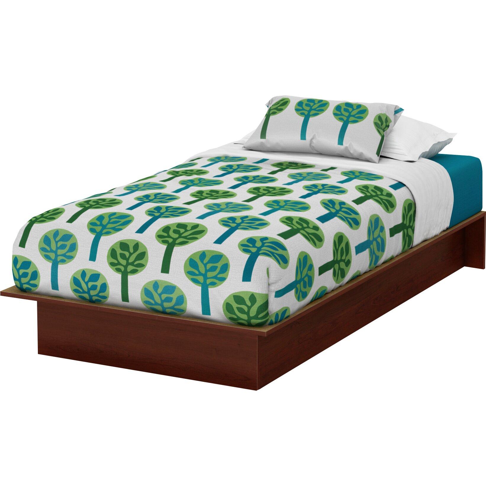 south shore libra twin platform bed