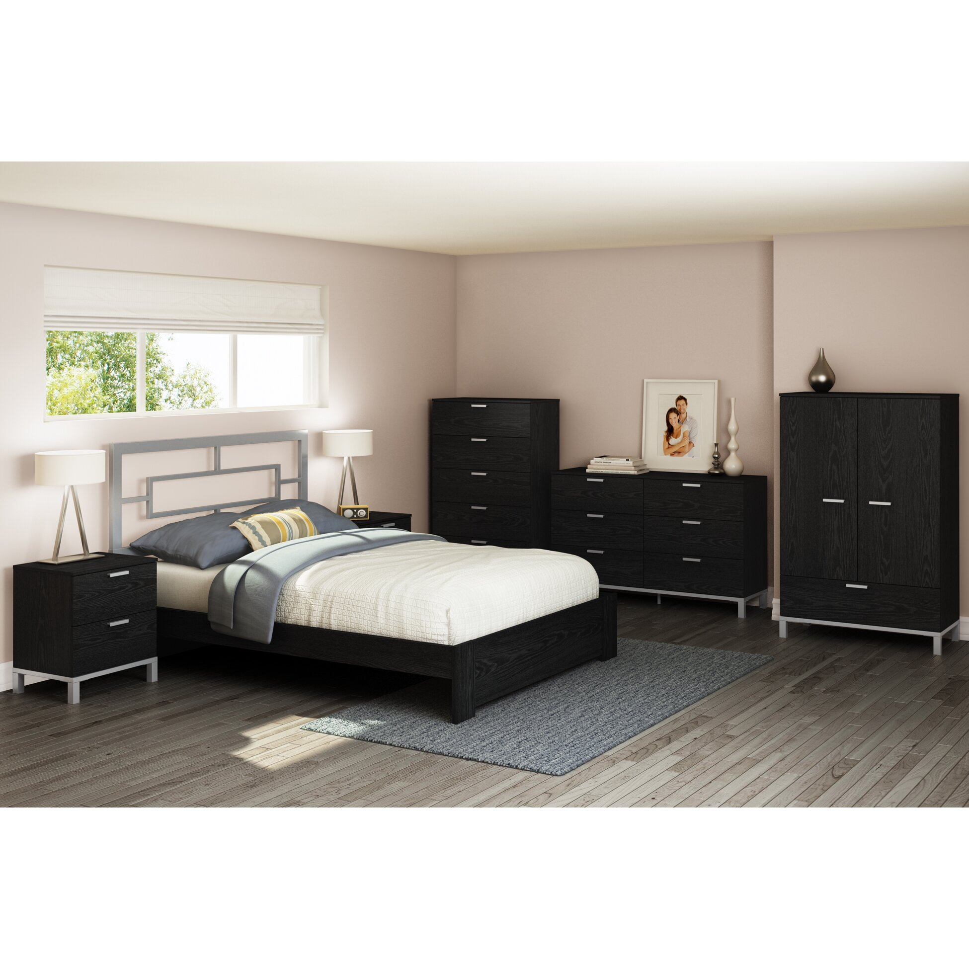 South Shore Bedroom Furniture South Shore Flexible Platform Bed Reviews Wayfair