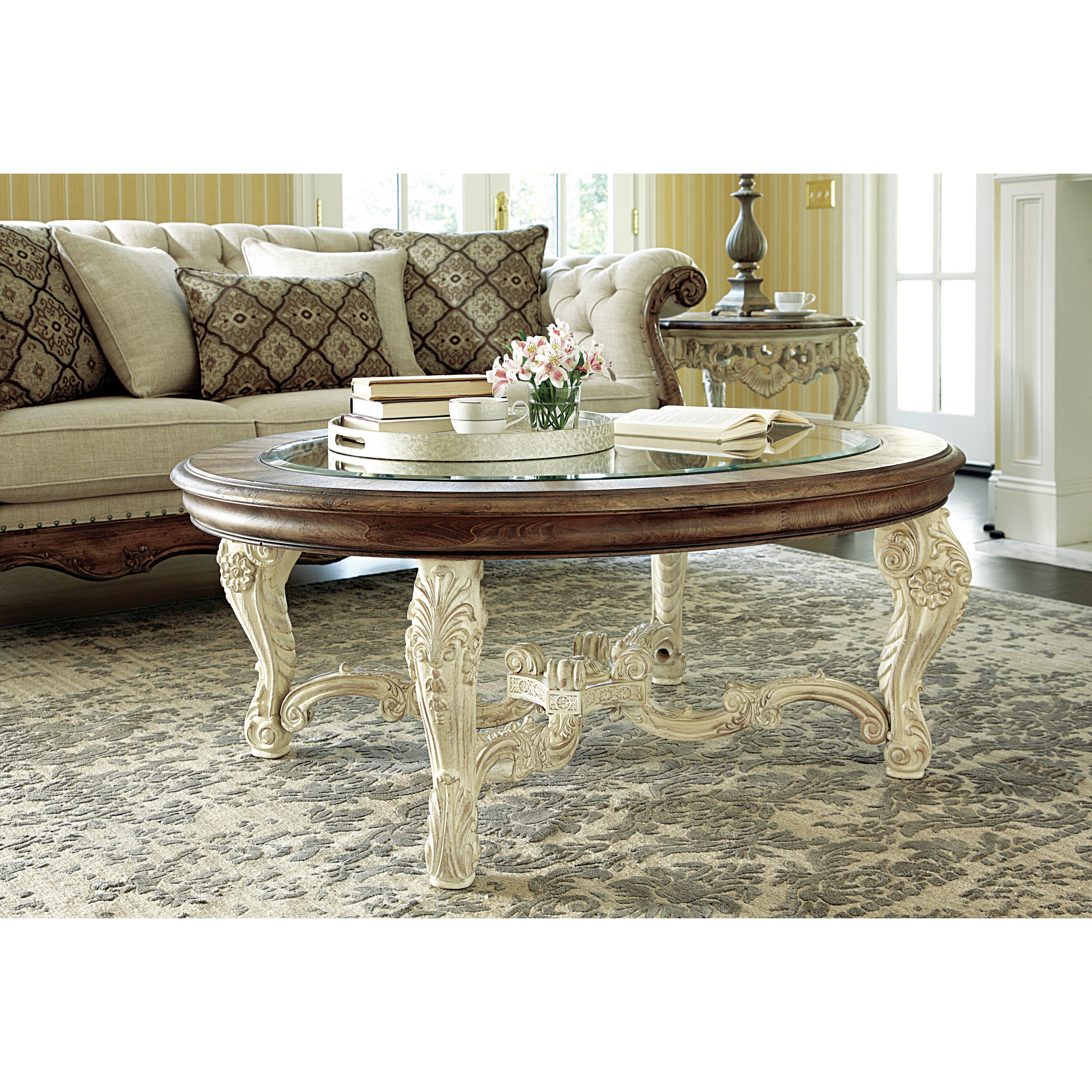 Hammary Jessica McClintock Coffee Table & Reviews