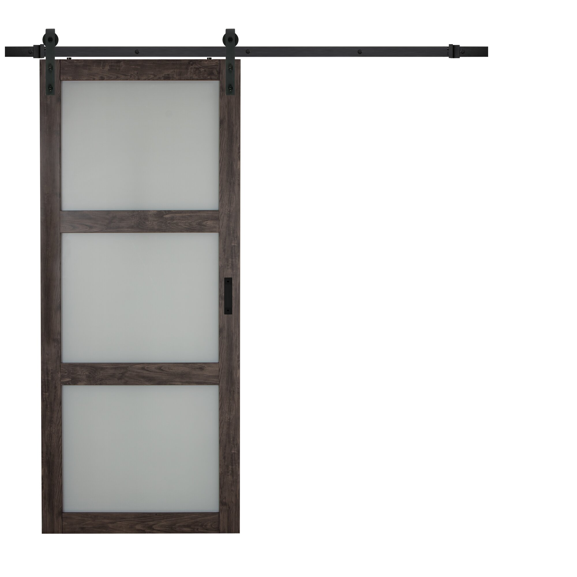erias home designs continental frosted glass 1 panel ironage laminate