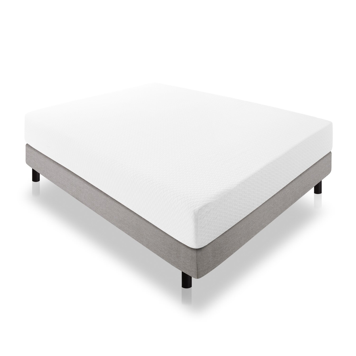 "Lucid 10"" Medium Plush Gel Memory Foam Mattress & Reviews"
