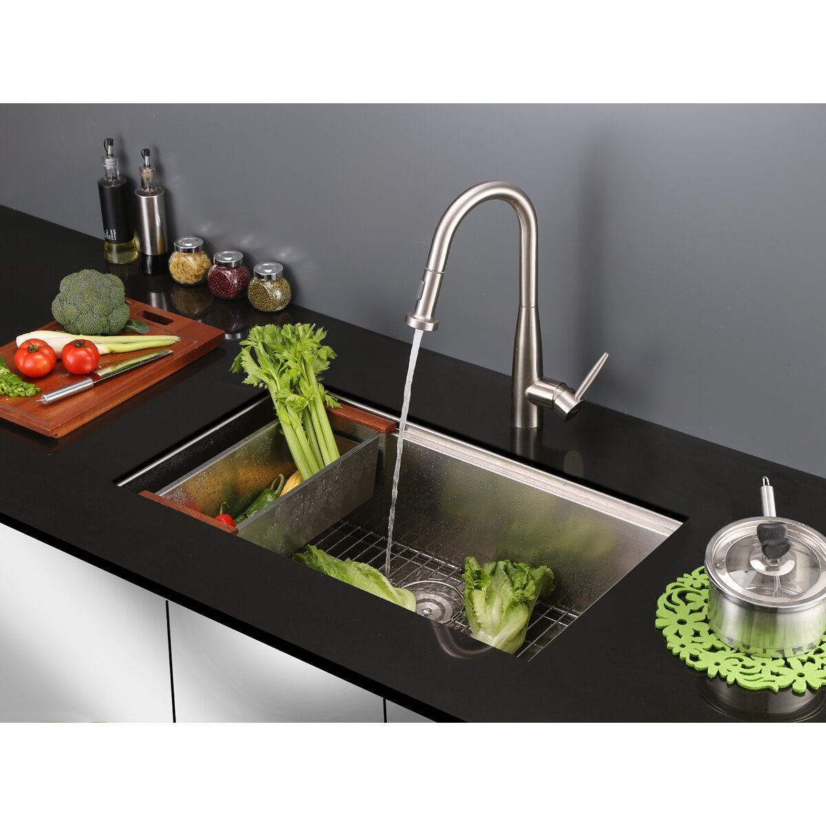 ruvati turino single handle kitchen faucet with pull out ruvati turino single handle kitchen faucet with pull out