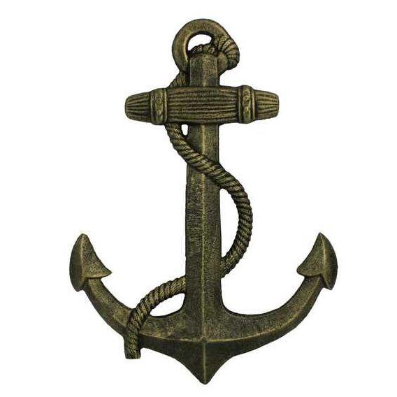 Handcrafted Nautical Decor Anchor Sculpture Wall Decor u0026 Reviews | Wayfair