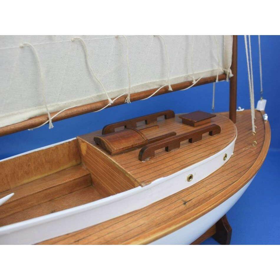 Boat Sales Cape Cod: Handcrafted Nautical Decor Cape Cod Cat Limited Sail Model