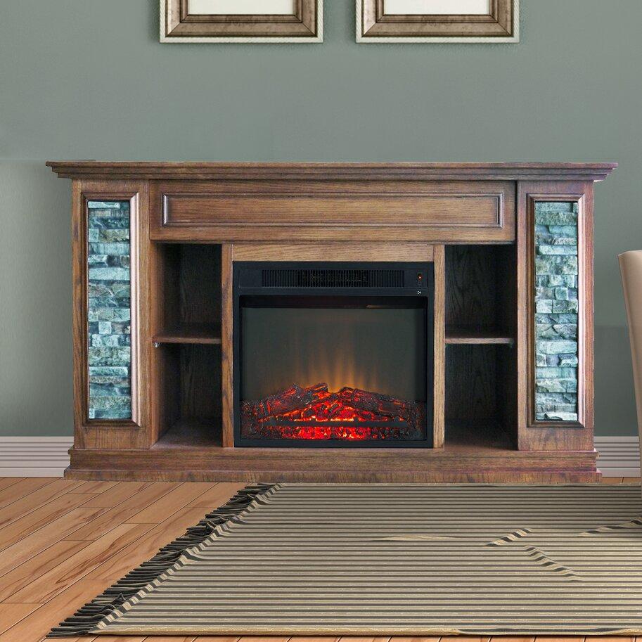 electric fireplace stone fireplace ideas