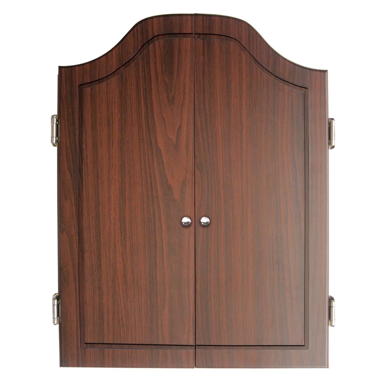 Dart Board Cabinet With Chalkboard Dmi Deluxe Dartboard Cabinet Set Reviews Wayfair