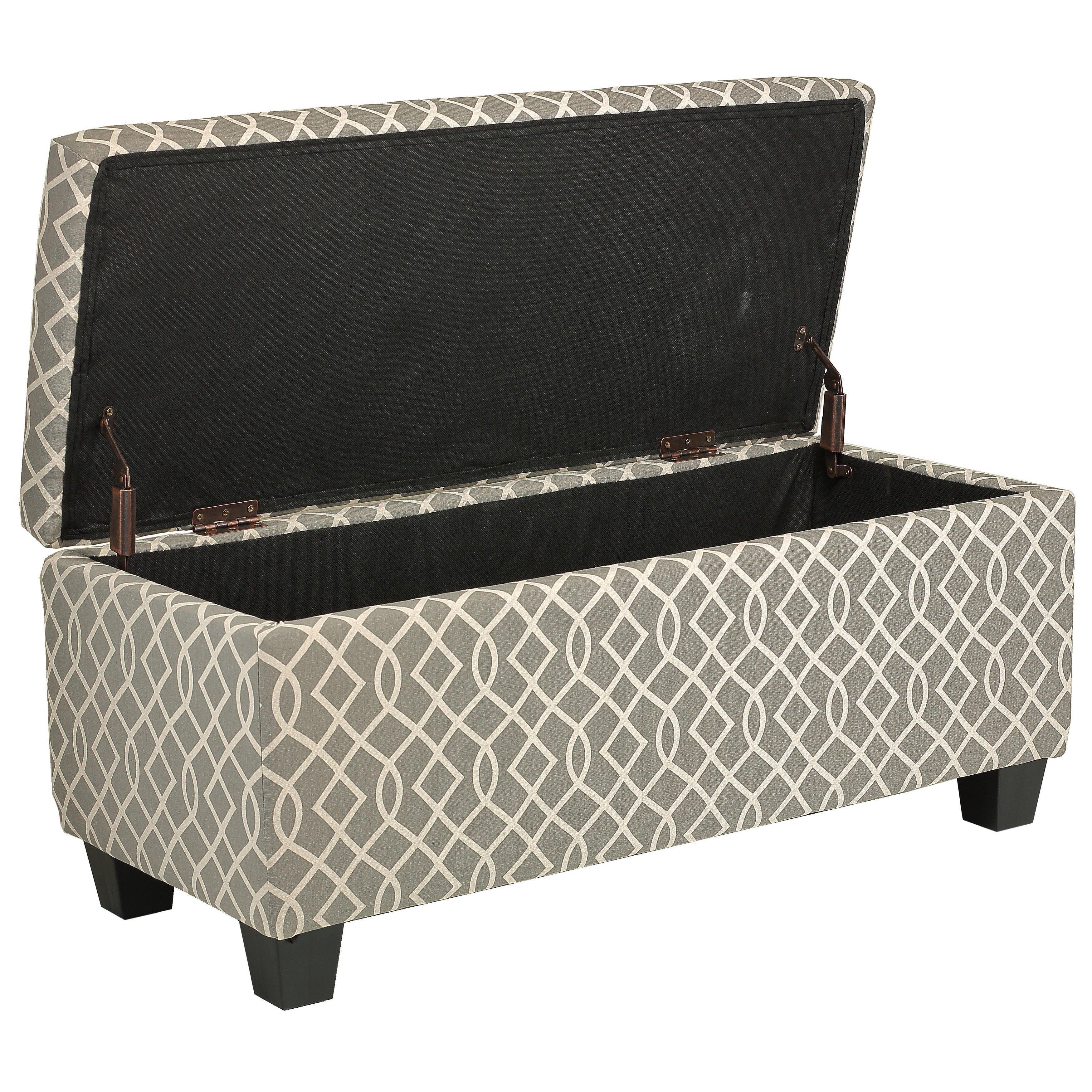 cortesi home kiki wood storage bedroom bench & reviews   wayfair