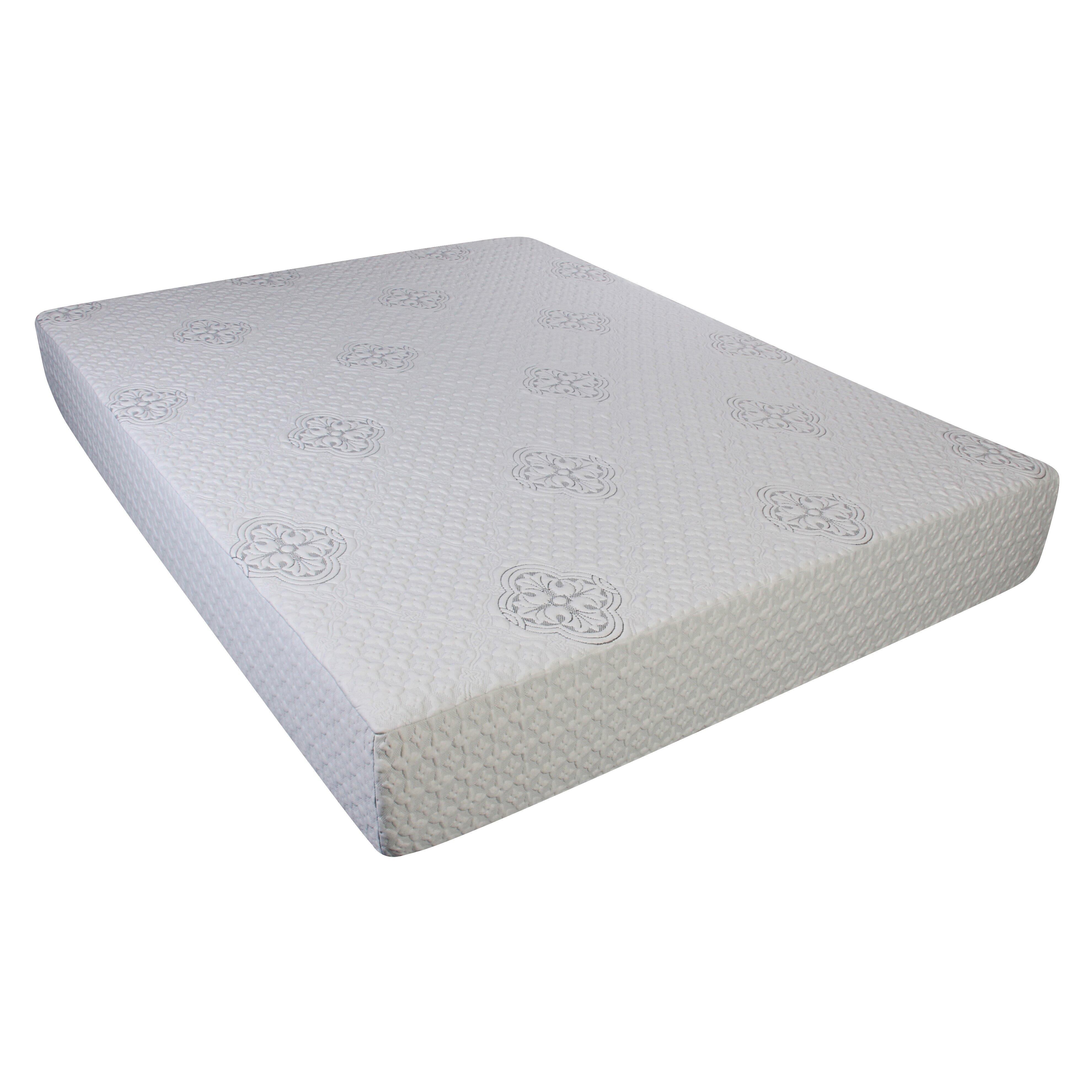 Shea 10 Inch Memory Foam Mattress Sleep Innovations