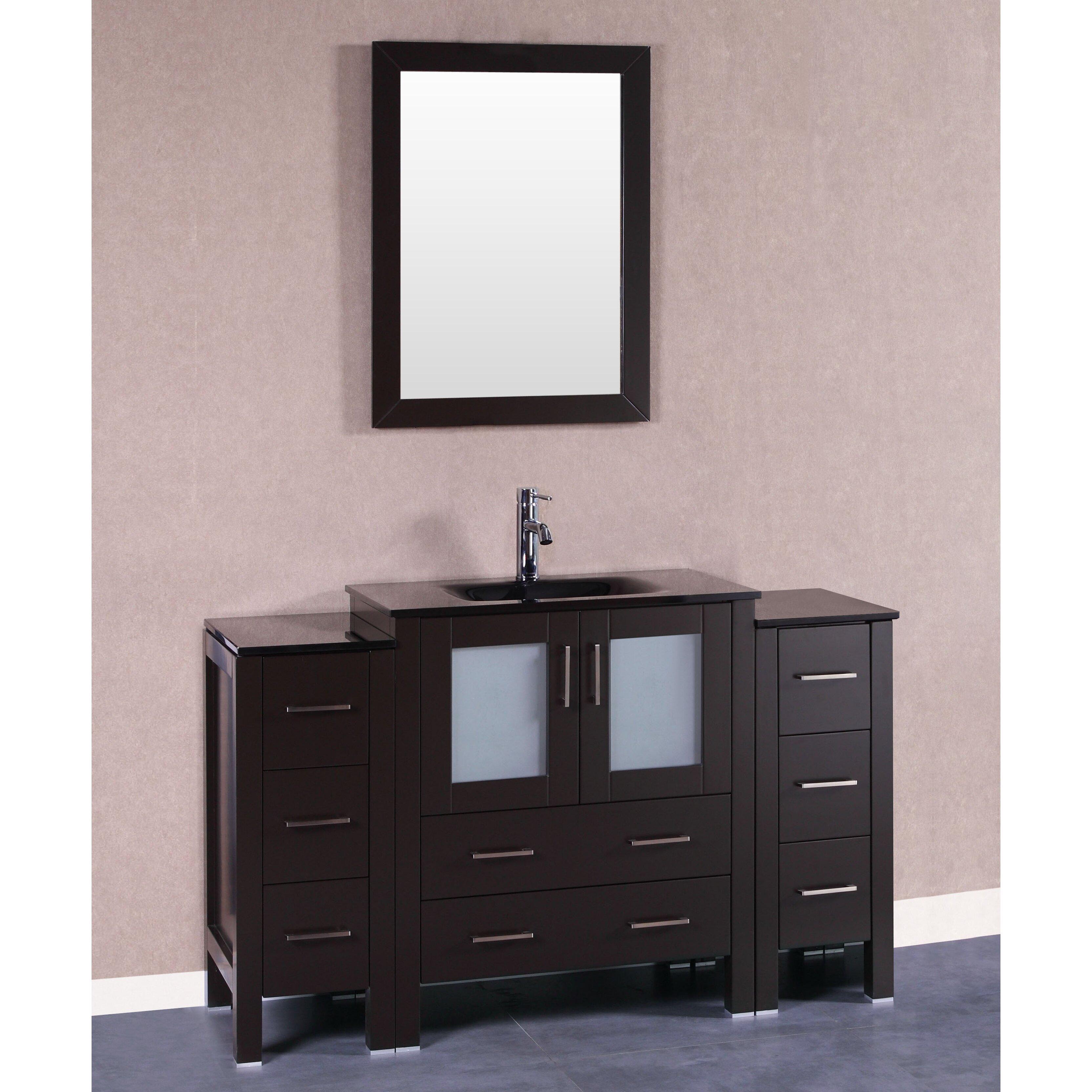 54 Inch Bathroom Vanity Cabinet Columbus Ideas Deebonk
