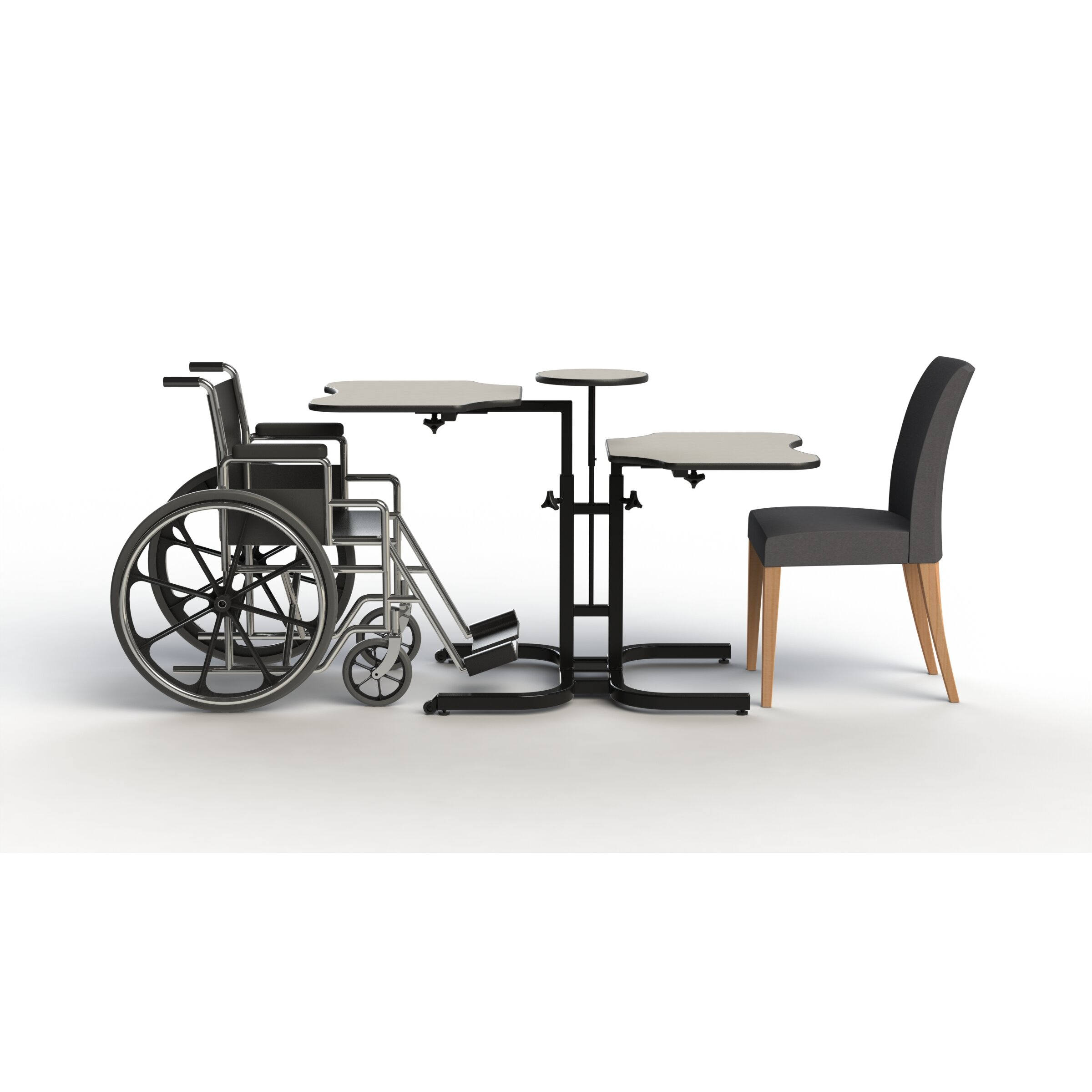 Comfor tek seating butterfly wheelchair accessible for Wheelchair accessible homes for sale near me