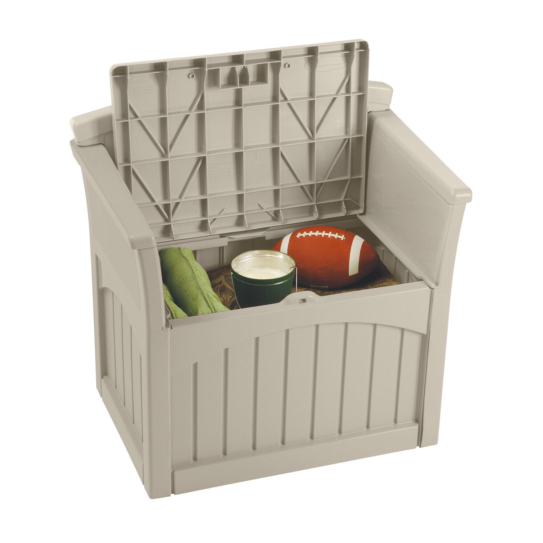 Suncast Storage Chair & Reviews   Wayfair.co.uk