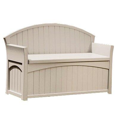 Suncast 2 Seater Plastic Storage Bench Reviews