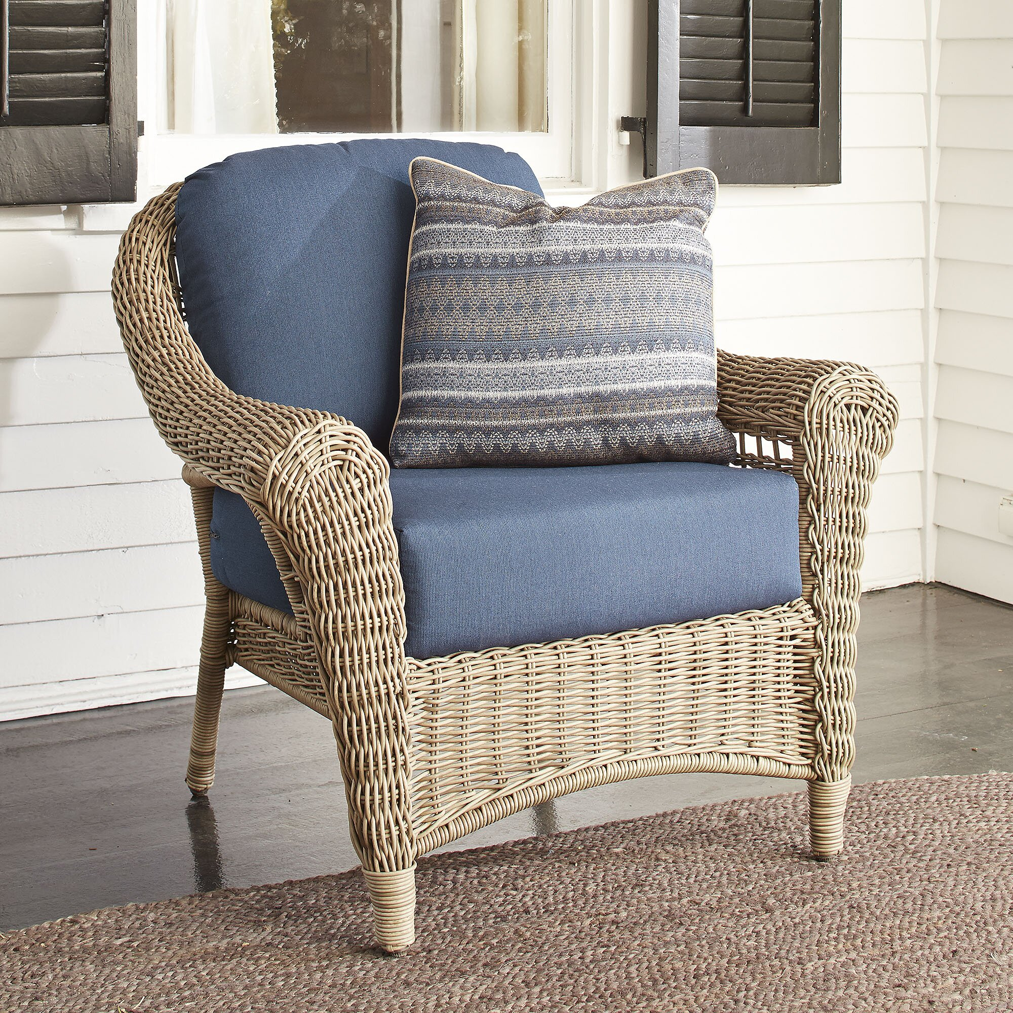 outdoor wicker furniture with sunbrella cushions. outdoor wicker furniture with sunbrella cushions simplylushliving o