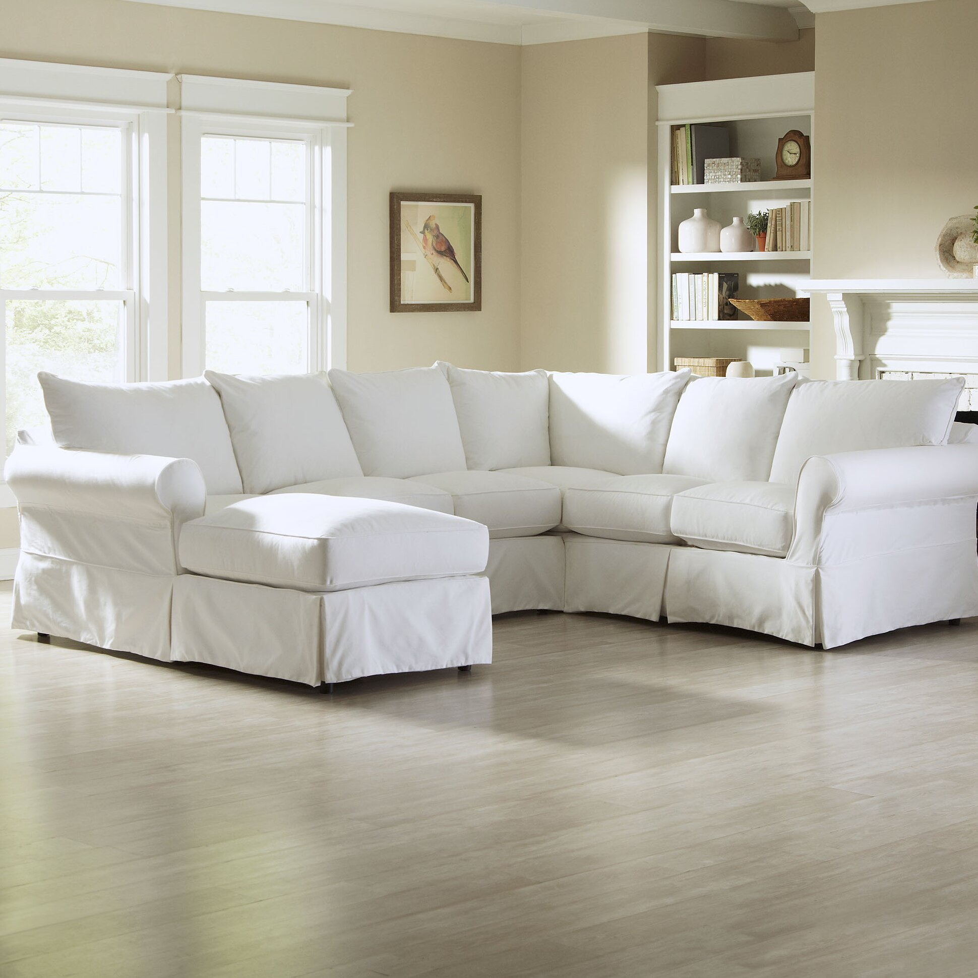 Birch lane jameson u shaped sectional reviews birch lane for Furniture 2 day shipping